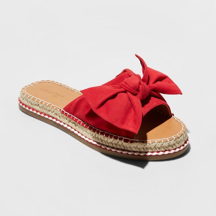 4bfcef4fe15 Women's Sigma Wide Width Bow Espadrille Sandals - Universal Thread ...