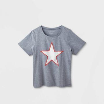 Women's Plus Size Star Short Sleeve Graphic T-shirt - Grayson Threads (juniors') - Blue