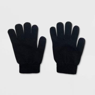 No Brand Women's Tech Touch Gloves - Black One Size, Women's