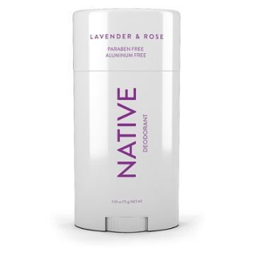 Native Lavender & Rose Deodorant-