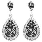 Target Marcasite And Crystal Earring -