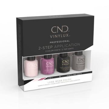 Cnd Vinylux Best Seller Nail Polish Set Classic Pinkie Pack Purple