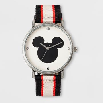 Boys' Disney Mickey Mouse Watch - Black/white/red,