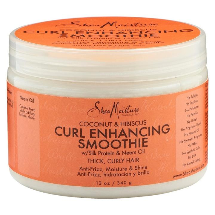 Sheamoisture Coconut And Hibiscus Curl Enhancing Smoothie