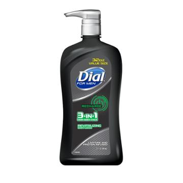 Dial For Men Recharge 3-in-1 Body Wash