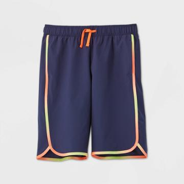 Boys' Quick Dry Board Shorts - All In Motion Navy Xs, Boy's, Blue