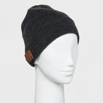 Accessory Innovations Accessory Innovation Bluetooth Fleece Line Beanie - Charcoal, Almost Black