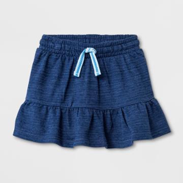 Toddler Girls' A-line Skirt - Cat & Jack Blue