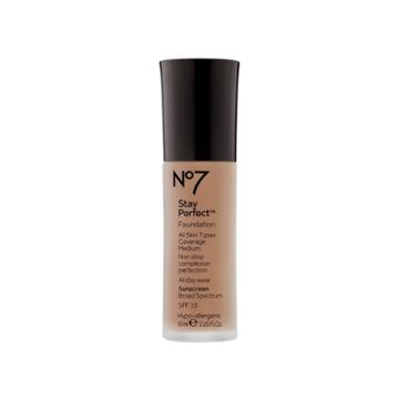No7 Stay Perfect Foundation Deeply Beige Spf