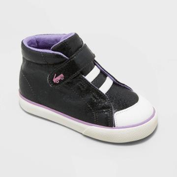 Toddler Girls' See Kai Run Basics Belmont Ii Metallic Apparel Sneakers - Black