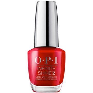 Opi Infinite Shine Big Apple Red