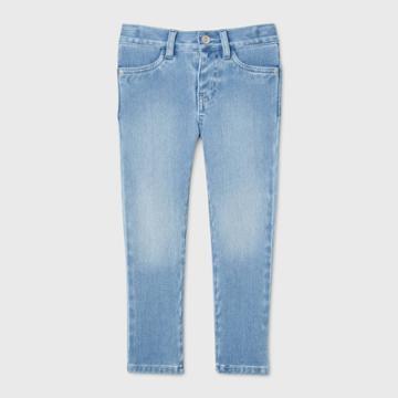 Toddler Girls' Skinny Jeans - Cat & Jack Light Wash 12m,
