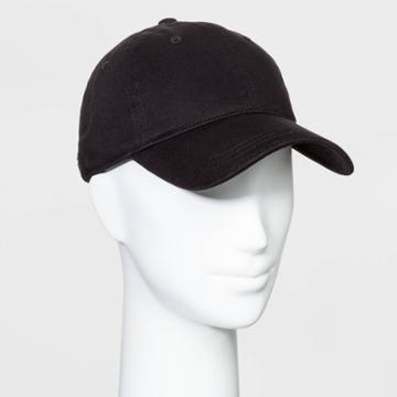 Women's Baseball Hats - Universal Thread Black One Size, Women's