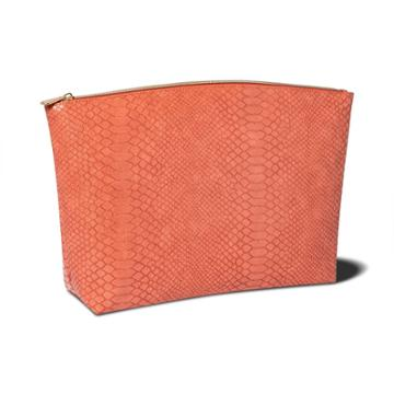 Sonia Kashuk Large Travel Pouch - Cinnamon Faux