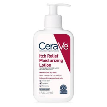 Cerave Itch Relief Moisturizing Lotion For Dry And Itchy Skin - 8oz, Adult Unisex