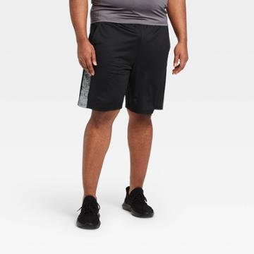 Men's 9 Train Shorts - All In Motion Black Gradient M, Men's,