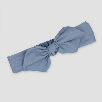 Baby Girls' Chambray Headwrap - Just One You Made By Carter's Blue