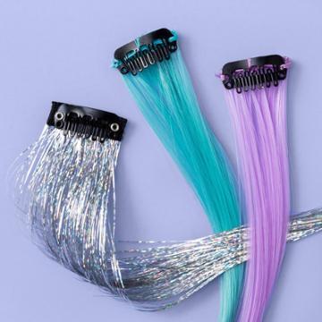 More Than Magic Girls' 3pk Faux Fur Hair Clips - More Than