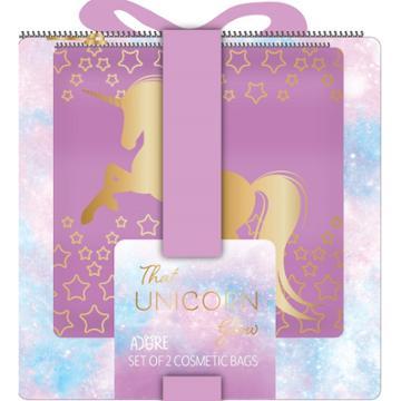 Adore That Unicorn Bag Set - 2pc, Unicorn Red