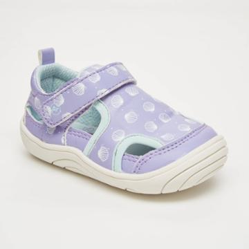 Baby Girls' Surprize By Stride Rite Shells Fisherman Sandals - Purple