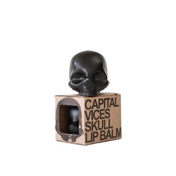 Rebels Refinery Skull Lip Balm Vanilla Black