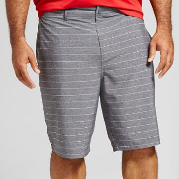 Men's Big & Tall Current Hybrid Shorts 10.5 - Goodfellow & Co Black 58,