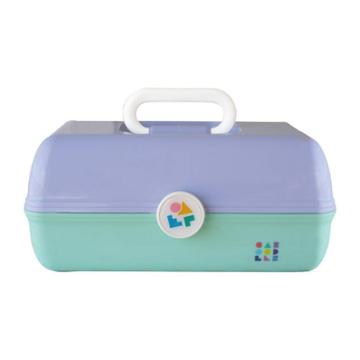 Caboodles On The Go Girl Makeup Bag - Lilac Over Mint, Adult Unisex