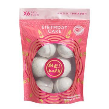 Me! Bath Birthday Cake Bath Bombs