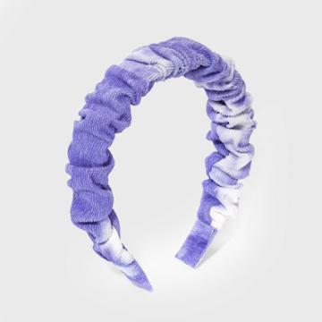 Girls' Tie-dye Headband - Art Class Purple