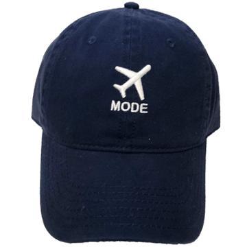 Concept One Airplane Mode Men's Baseball Hats - Navy (blue)