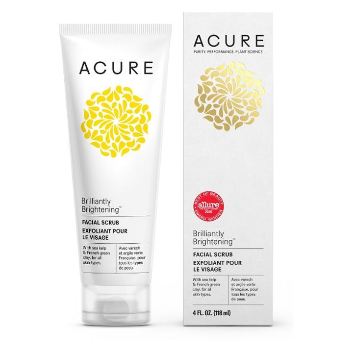 Acure Organics Acure Brilliantly Brightening Facial Scrub