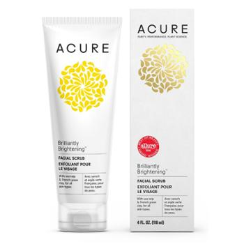 Acure Organics Acure Brilliantly Brightening Facial Scrub