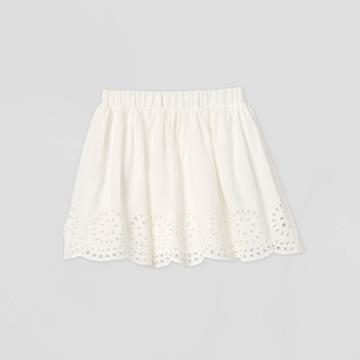 Girls' Eyelet Skirt - Cat & Jack White