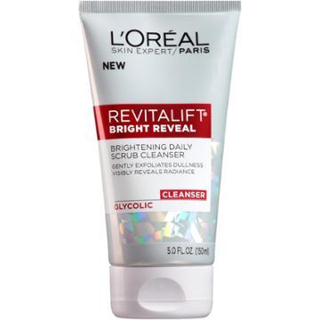 L'oreal Paris Revitalift Bright Reveal Daily Scrub Cleanser