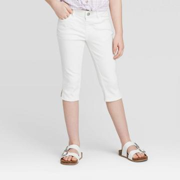 Girls' Jeans Capri - Cat & Jack White