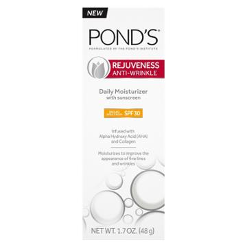 Pond's Rejuveness Daily Moisturizers With Spf 30 Facial Moisturizers