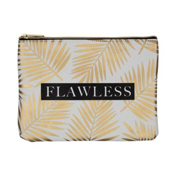 Ruby+cash Faux Leather Makeup Bag & Organizer - Flawless Palms