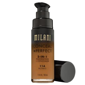 Target Milani Conceal + Perfect 2-in-1 Foundation 11a Nutmeg (brown)