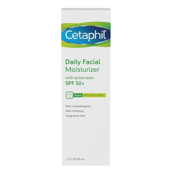 Cetaphil Facial Moisturizer - Spf 50+
