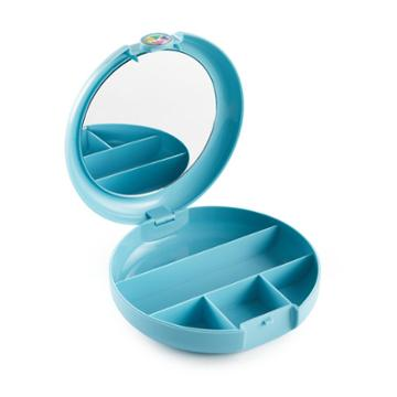 Retro Caboodles Cosmetic Compact- Sky Blue, Adult Unisex