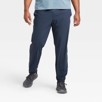 Men's Lightweight Run Pants - All In Motion Navy M, Men's, Size: