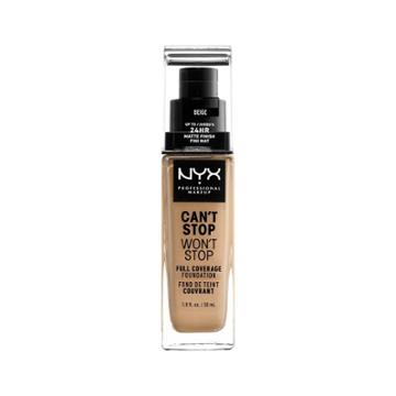 Nyx Professional Makeup Can't Stop Won't Stop Full Coverage Foundation Beige