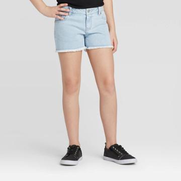 Girls' Jean Shorts - Cat & Jack Light Wash Xs, Girl's, Blue