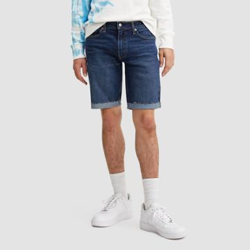 Levi's Men's 10 511 Slim Fit Jean Shorts - Dark Blue