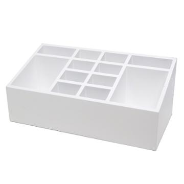 10x5x4 12 Compartment Vanity Organizer White - Threshold