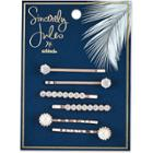 Sincerely Jules By Scunci Sincerely Jules By Scnci Crystal And Pearl Bobby Pins -6pk, Kids Unisex,
