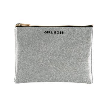 Ruby+cash Glitter Pouch Girl Boss -