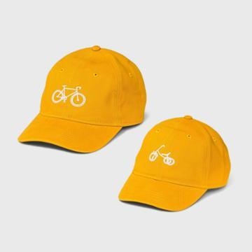 Men's Bike Dad Baseball Hat - Goodfellow & Co Yellow
