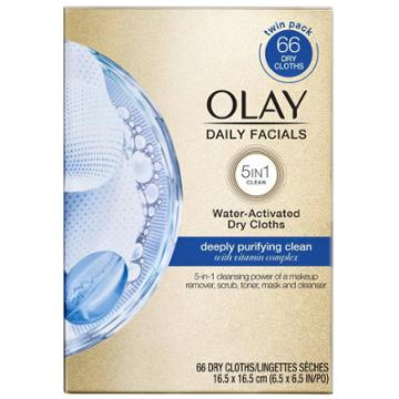 Olay Daily Deeply Purifying Cleansing Cloths