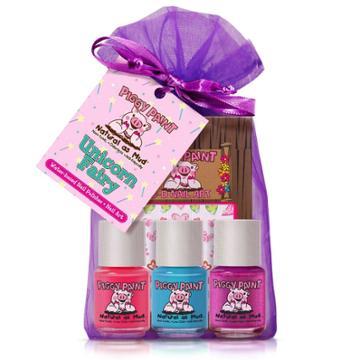 Piggy Paint Nail Polish Set - Unicorn Fairy - 3pk/0.25 Fl Oz Each +